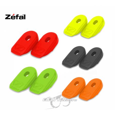 Protector de bielas Zefal Crank Armor Negro, Rojo, Amarillo Fluor, Naranja y Verde