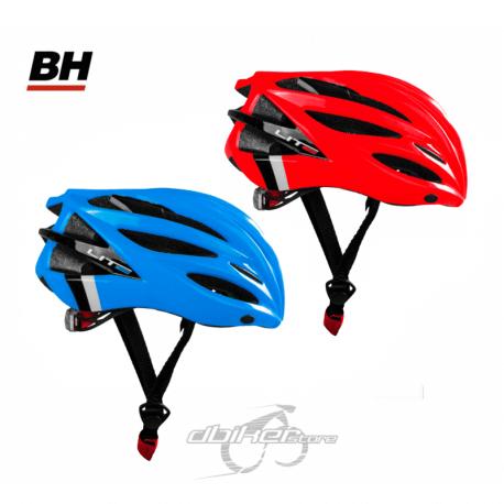 Casco BH Lite Rojo y Azul