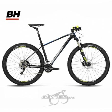 Bicicleta BH Expert 29 RS30 10sp 2018 Negra/Azul