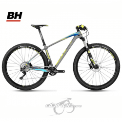 Bicicleta BH Ultimate RC 29 RS30S SLX 11sp Gris/Amarillo Fluor