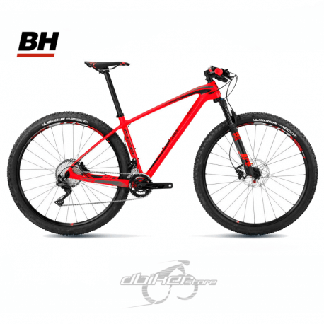 Bicicleta BH Ultimate RC 29 FOX 32 SC 2018 Rojo/Negro