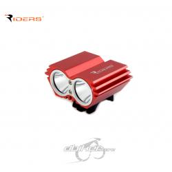 Foco Riders F2800 Rojo