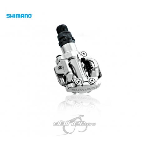 Pedales Shimano M520 Plata