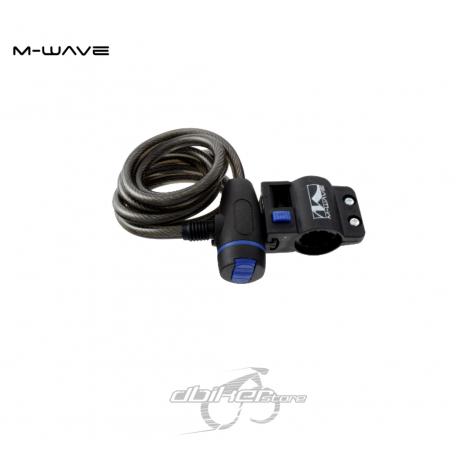 Candado M-Wave 10x1800
