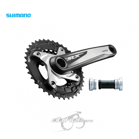 Bielas Shimano SLX M675 38/26