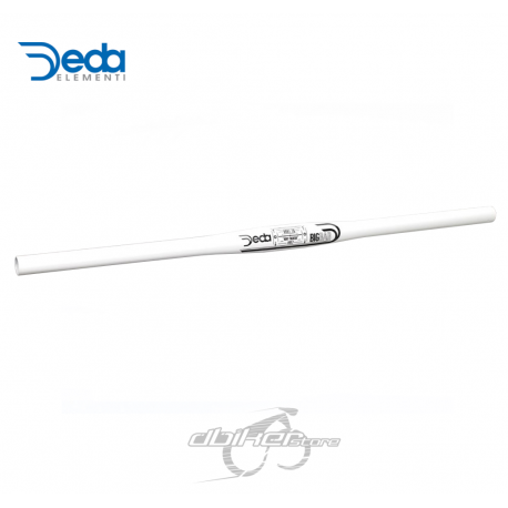 Manillar DEDA Big Bar Plano Blanco