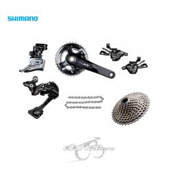 Grupo Shimano XT M8000 2x11v | Monoplato