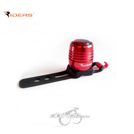 Foco Trasero Riders Usb F51N Rojo
