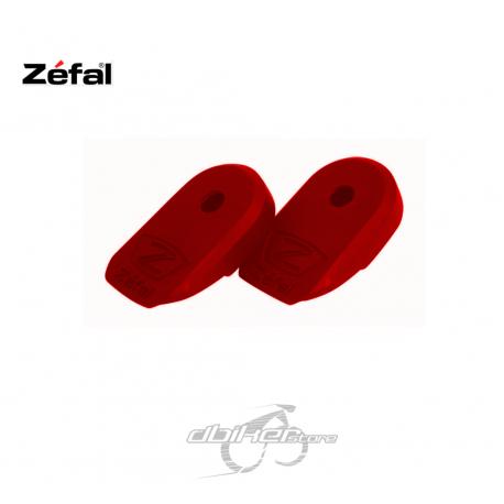 Protector de bielas Zefal Crank Armor Rojo