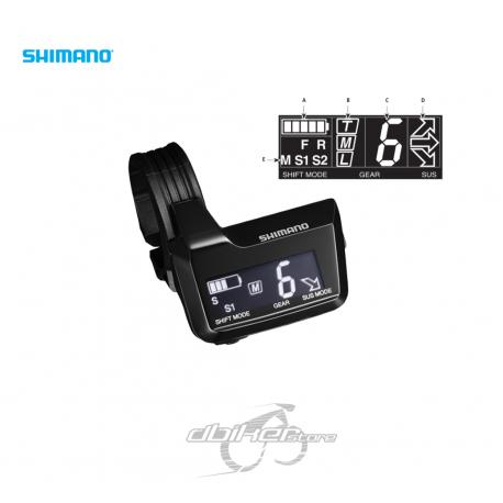 Pantallla Shimano XT Di2 MT800