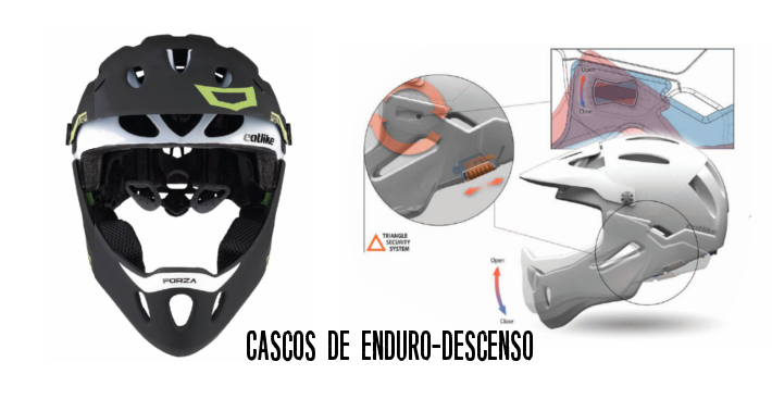 Cascos de Enduro y Descenso
